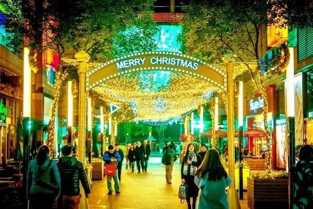 上海港汇恒隆广场圣诞美陈