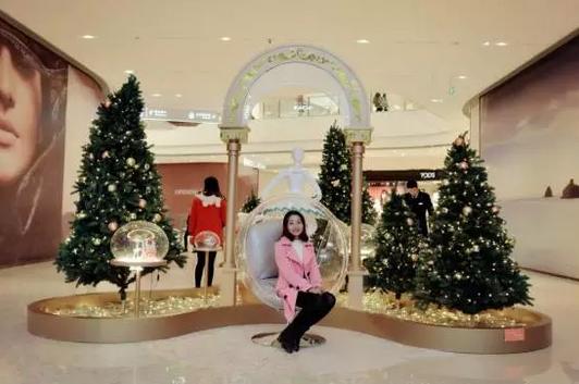 重庆万象城圣诞美陈