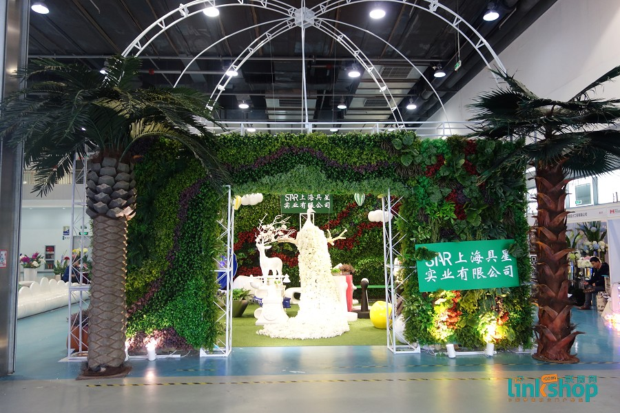 2015中国美陈展之上海颜艺展位
