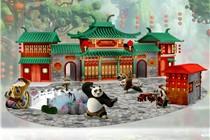 奥海城「功夫熊猫.动喜来」装置艺术