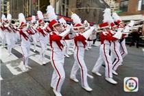 梅西百货感恩节大游行举行 美国拉开节日季