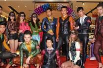 温州一鞋企开启全国人体彩绘秀巡展