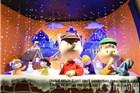 纽约百货商店创意圣诞橱窗 放心去玩