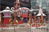 郑州国贸360广场圣诞美陈