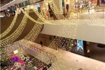 成都乐天百货环球中心店圣诞美陈