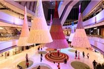 香港ifc圣诞美陈震撼来袭