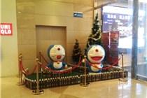 郑州中原万达圣诞美陈
