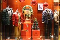 哈尔滨中央大街商场圣诞美陈
