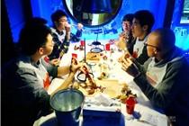 南京无餐具餐厅开业受市民青睐