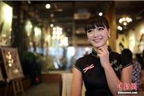 重庆一餐厅美女旗袍Party  卷起中国风