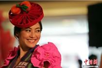 香港东港城举办宣扬羊毛艺术的时装秀
