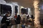 """探访伊朗特色""""盐餐厅"""" 墙壁桌子都是咸的"""