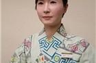 日本百货店咨询服务台现美女机器人工作人员