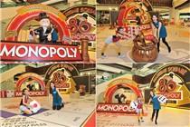 青衣城「大富翁80周年香港版」巨型大富翁棋盘装置
