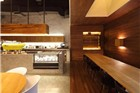 咖啡馆设计:台北这家用石子和木料做的很安静