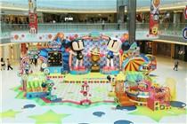 新都城中心决战炸弹人大型游戏装饰
