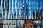 东京银座的新商场 光是玻璃立面就花了不少心思