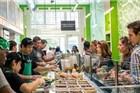 3个美国小伙开了家60平的沙拉店 却赚翻了