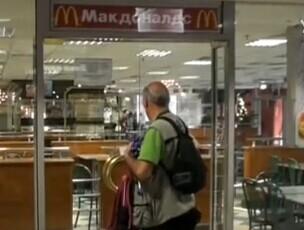 俄法院裁定莫斯科三家麦当劳停业90天