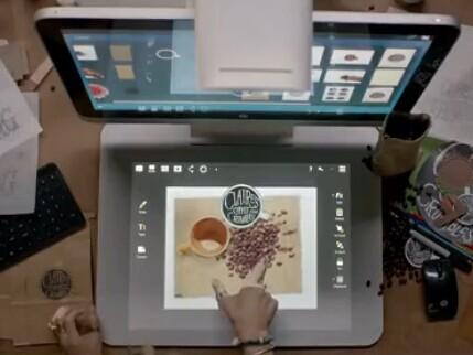 惠普HP Sprout:丢掉键盘 回归到手