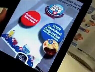 应用于零售的AR技术案例分享之乐购超市