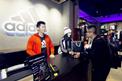 李晨范冰冰助阵阿迪达斯上海体验店开幕