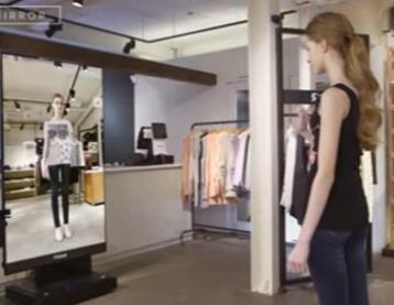 虚拟3D试衣镜解决优衣库试衣间不雅事件发生
