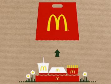 麦当劳这么有创意,肯德基跟得上么!