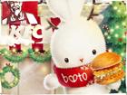 2015圣诞ING 啵兔成为KFC圣诞季当家主理人