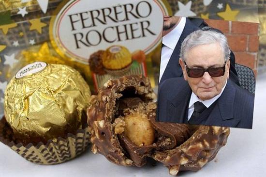 意大利首富、费列罗巧克力之父情人节逝世