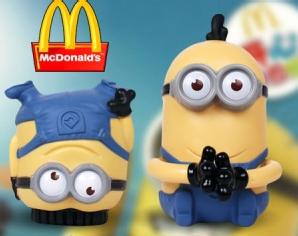 麦当劳暑期新品小食欢享盒-小黄人来袭