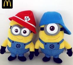 麦当劳暑期全新萌系甜品-小黄人来袭