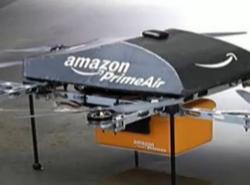 亚马逊无人机都试飞了快递员离下岗还远吗